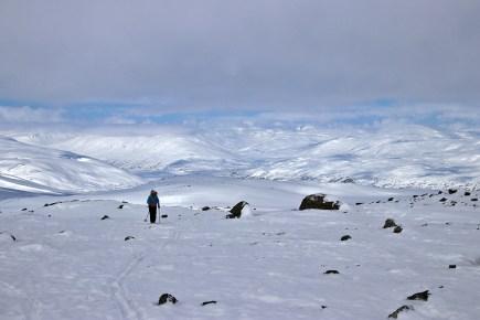 On the ridge to Huguvarden