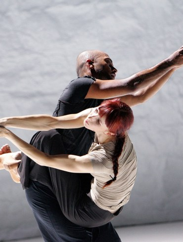 Akram Khan and Sylvie Guillem