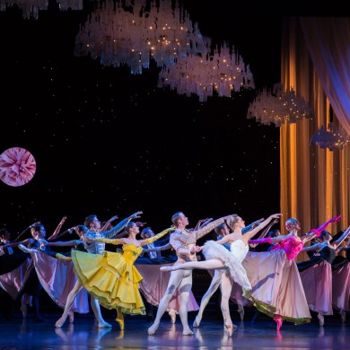 "Scottish Ballet in Christopher Hampson's ""Cinderella."" Photograph by Andy Ross"