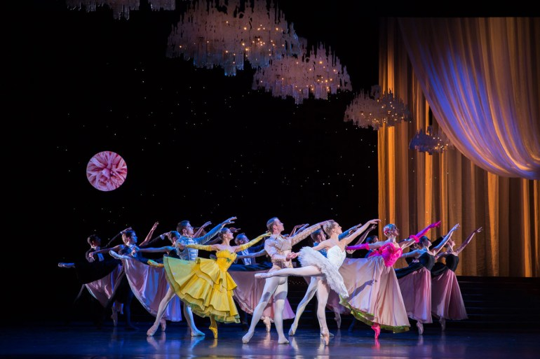 """Scottish Ballet in Christopher Hampson's """"Cinderella."""" Photograph by Andy Ross"""