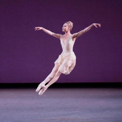Sara Mearns in George Balanchine's Walpurgisnacht Ballet. Photo Paul Kolnik