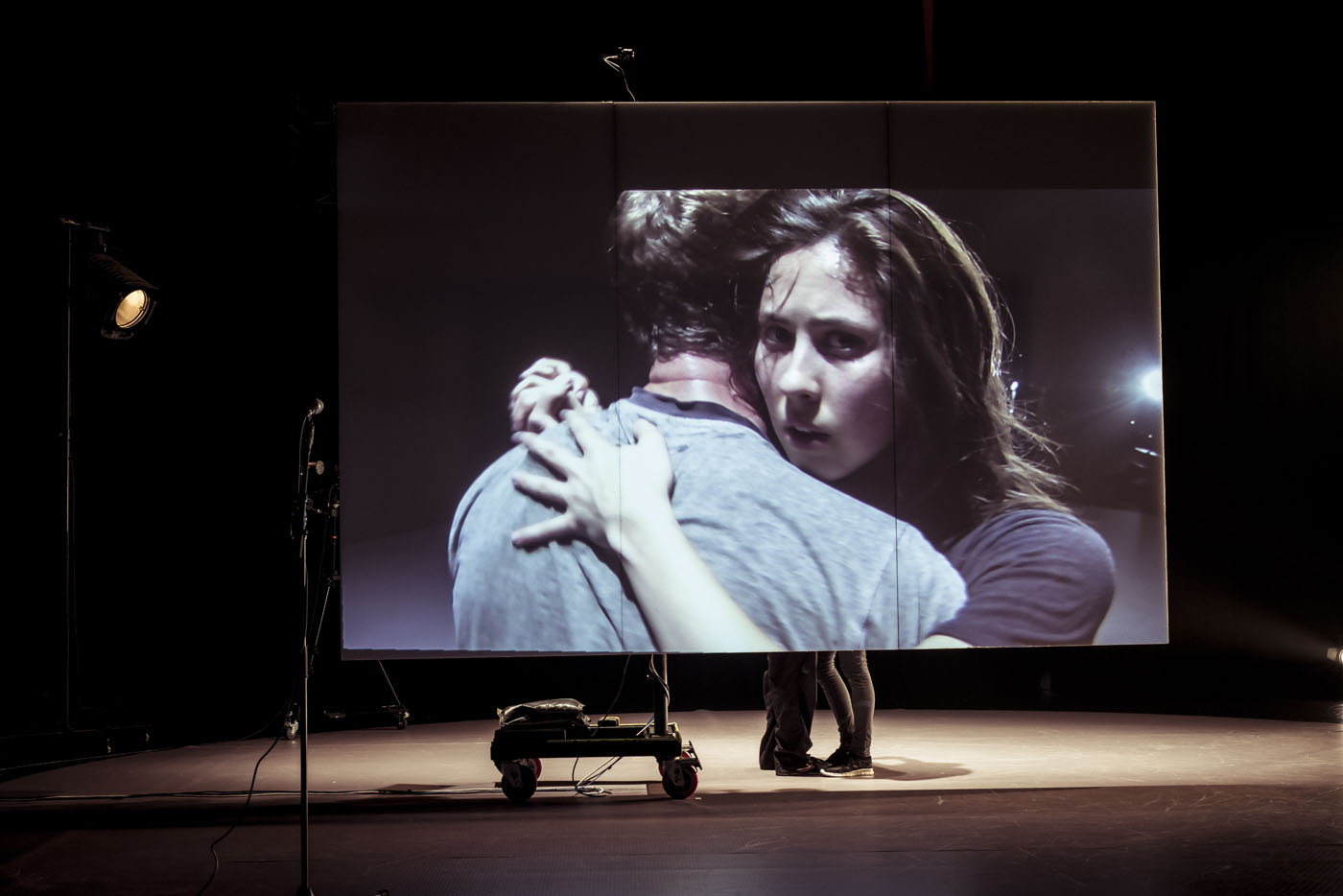 """Stephen Phillips and Lauren Langlois in Chunky Move's """"Lucid."""" Photograph by Pippa Samaya"""