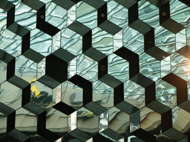 Harpa ceiling