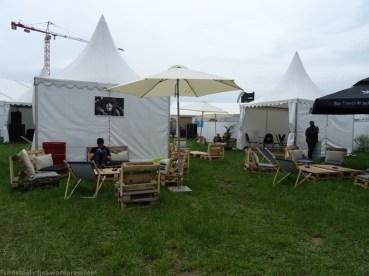 Le camp VIP
