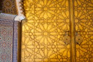 Doors of the Royal Palace (Dar el Makhzen) in Fez