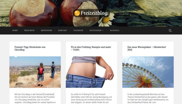 Freizeit Blog