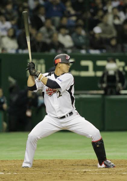 中田翔日本代表背番号22