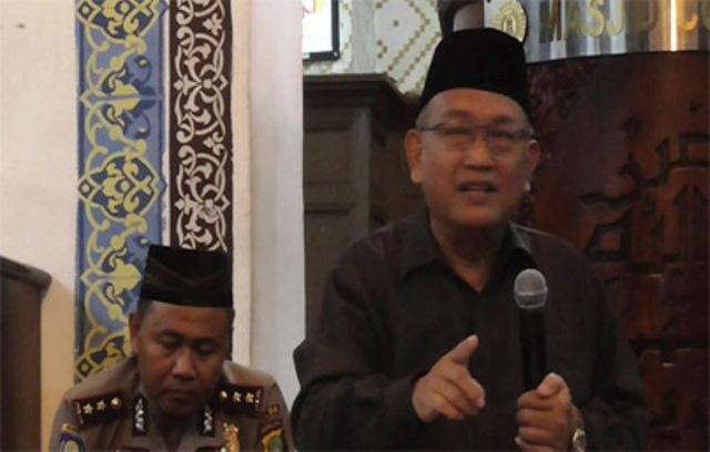 KH. Ahmad Syafi'i Mufid - Ketua FKUB Povinsi DKI Jakarta