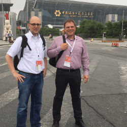 Chinaplas 2015 Christian & Olaf