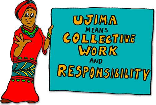 Image result for ujima images clip art