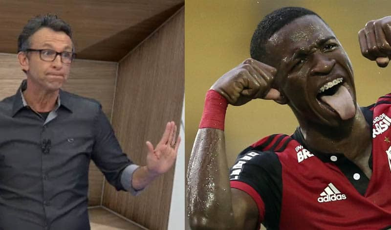 Neto dispara contra comentarista do SporTV: 'Desnecessário é você! Vai chupar uma r...'