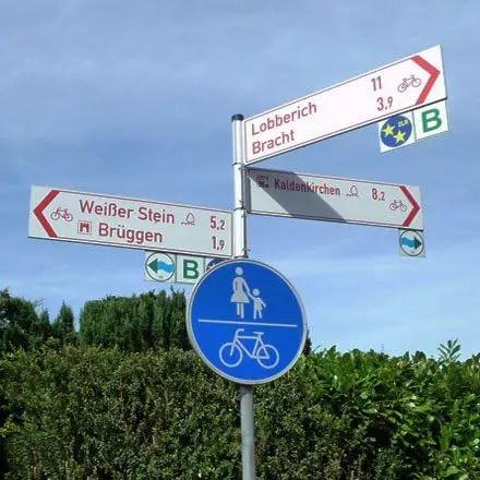 Radroutenplaner NRW - Radeln auf ausgeschilderten Radrouten im Kreis Viersen