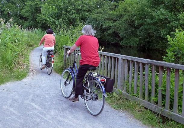Radeln Radwandern am Niederrhein