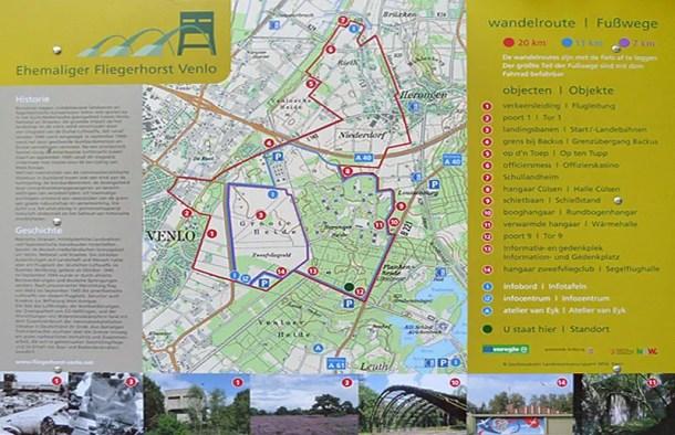 Rundweg Fliegerhorst Venlo - Flachshof Nettetal