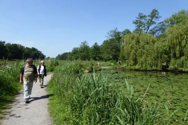 Barriere Wanderwege in Nettetal - Flachshof Nettetal