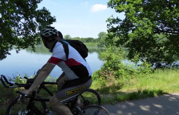 GPS Radtouren am Niederrhein - Nettetaler Seen