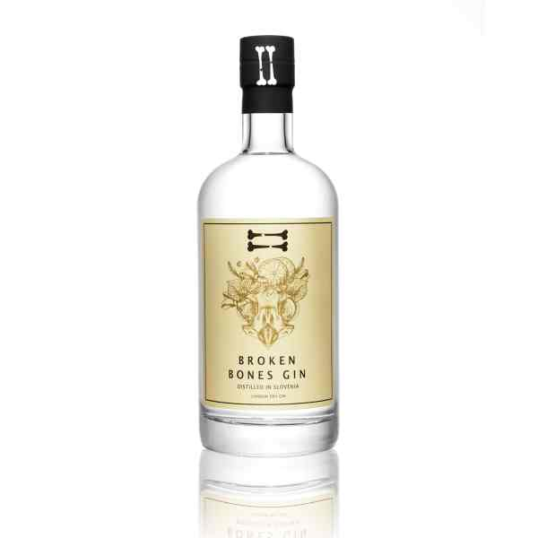 Broken Bones London Dry Gin from Slovenia in Luxembourg