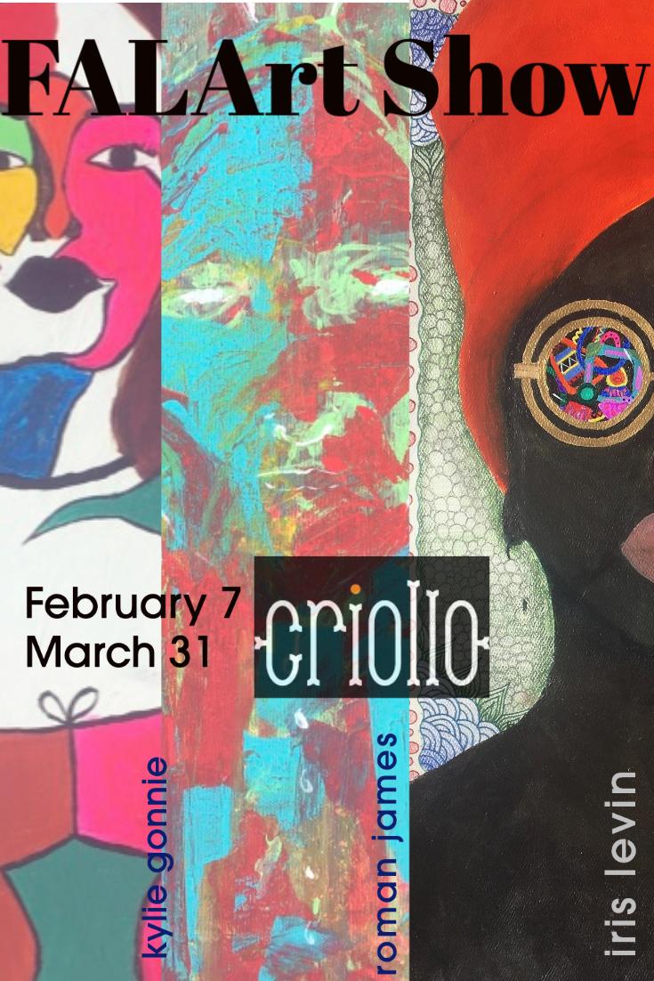 Criollo Art Show Flyer