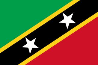 Saint Kitts & Nevis flagga