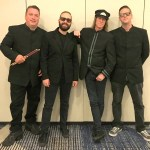 The Cherry Drops include, from left: Jimmy Mason, drums, backing vocals; Josh Cobb, guitar, backing vocals; Vern Shank, lead vocals, percussion; James Markowski, bass. (Vern Shank)
