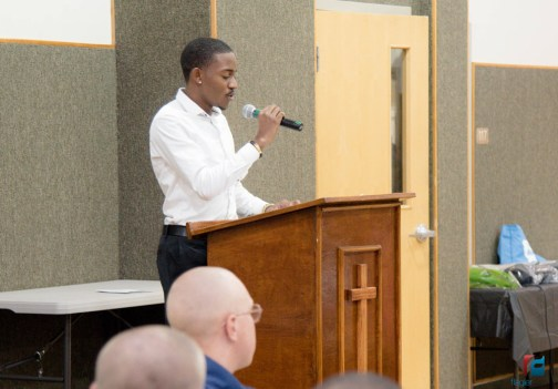 Darryl Boyer, an AAMP participant and senior at Flagler Palm Coast High School, shared his story.