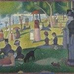 """""""A Sunday Afternoon on the Island of La Grande Jatte – 1884 (French: Un dimanche après-midi à l'Île de la Grande Jatte – 1884)"""