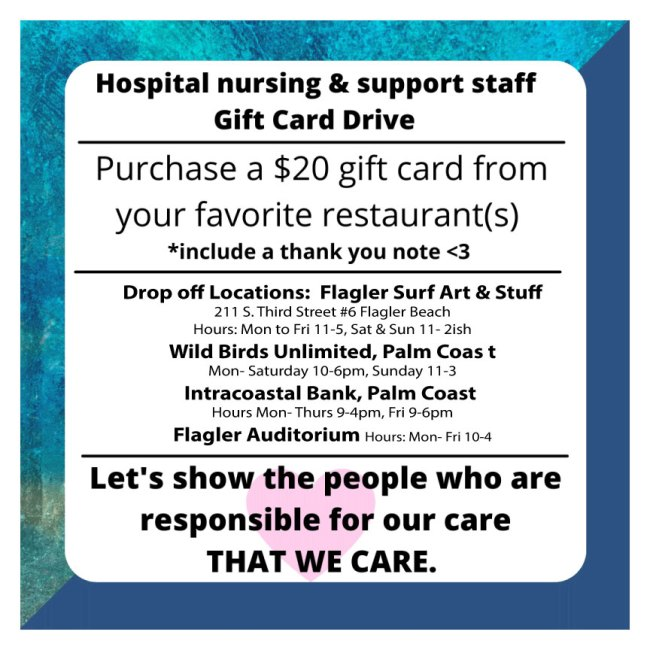 cline gift card health care workers pay it forward