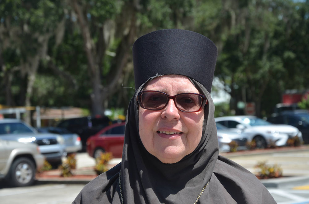 Carol Bacha, also known as Mother Elizabeth. (© FlaglerLive)