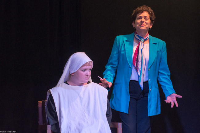 'Agnes of God' is in its final weekend at City Repertory Theatre in Palm Coast. See details below. (Mike Kitaif)