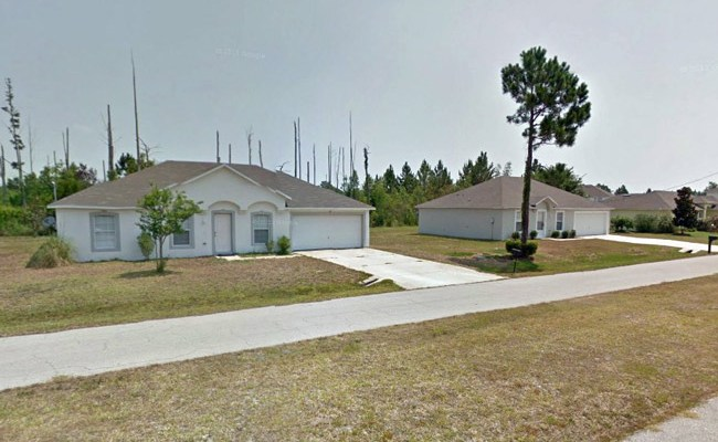 The alleged robbery took place at at 35 Liedel Drive in Palm Coast Saturday night.