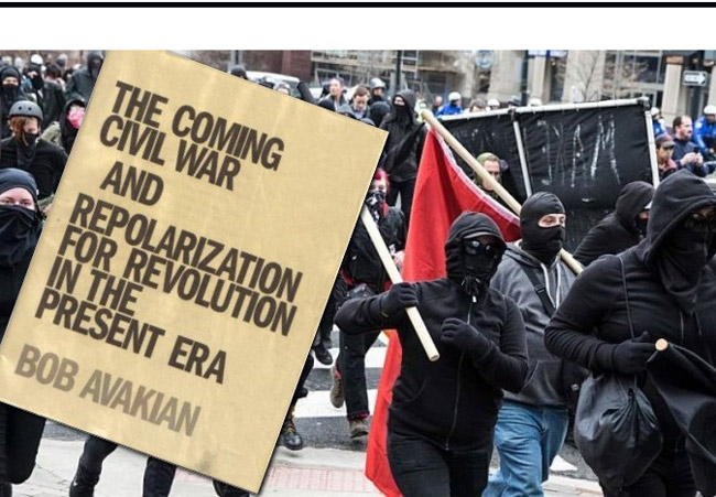 The trumped-up image atop an August posting on a conspiracy-theory website that helped spread the false rumor of an anti-Trump uprising this weekend.