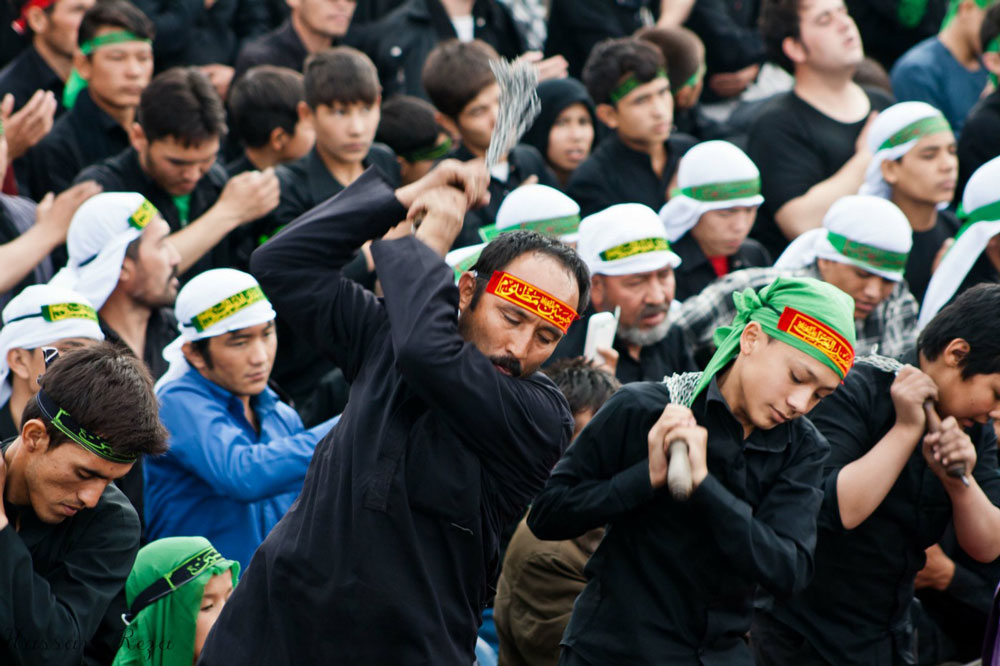 ashura Like Mel Gibson in the Passion of the Christ, but for Shiite Muslims. (Hassan Reza)