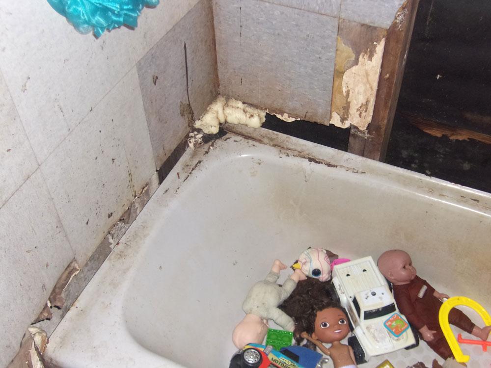 A corner of the bathroom. (FCSO)