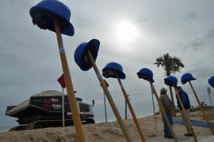 Flagler County is spending over $40 million to restore beaches in the wake of Hurricanes Irma and Matthew. 'The expenditure of public funds to restore the dunes is in part justified by the importance of the beaches to the county's economy and [their] use by the public' for recreation, the county states. (© FlaglerLive)