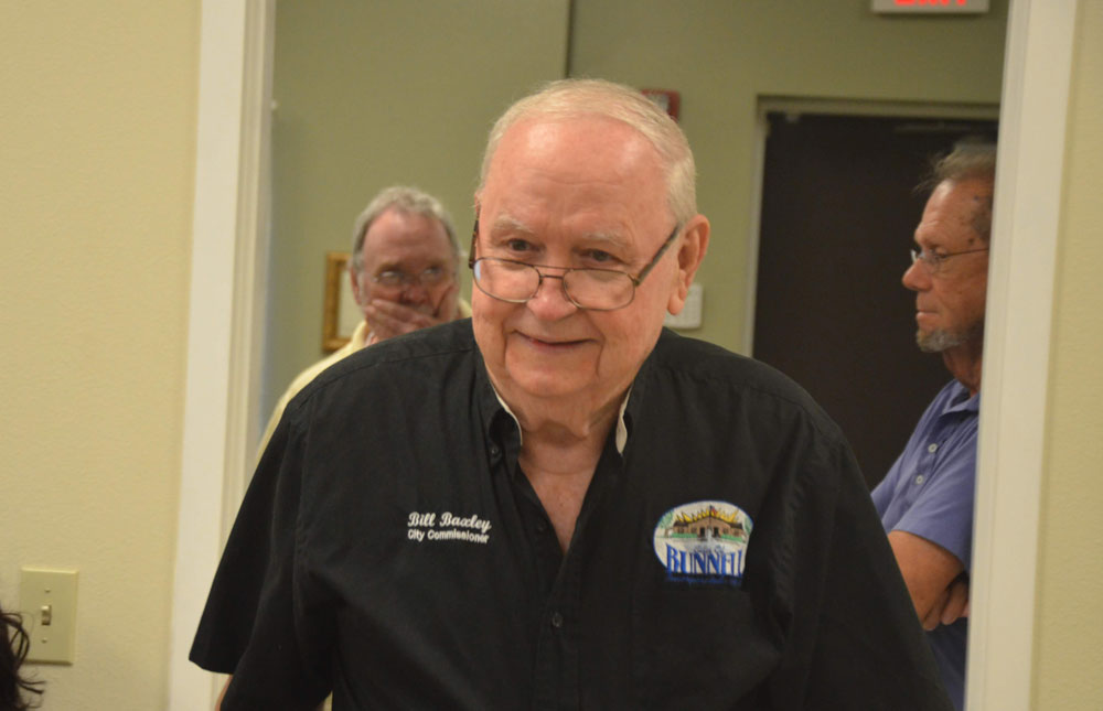 Bunnell City Commissioner Bill Baxley is retiring after eight years on the board. His last meeting is Monday. (© FlaglerLive)