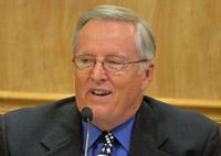 Bill McGuire. (© FlaglerLive) palm coast city council