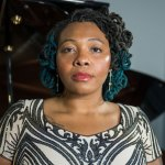 """Laniece Fagundes portray legendary jazz singer Billie Holiday in City Repertory Theatre's production of """"Lady Day at Emerson's Bar and Grill."""" (Mike Kataif)"""