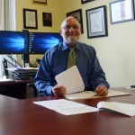 Bob Snyder, head of Flagler County's health department. (© FlaglerLive)