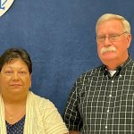 Bunnell's newly appointed city commissioners, Tina-Marie Schultz and Robert Barnes. (Bunnell)