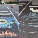 Jared Dawson, City of Palm Coast's Recreation Specialist of Events, has been eager to host a Chalk Art Festival. It was scheduled for last year but was delayed because of Covid. (Palm Coast)