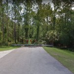 Right now Citation Boulevard just ends. It will soon be extended all the way to Seminole Woods Boulevard. (Google)