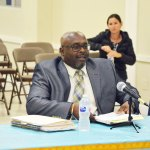 Bunnell City Manager Alvin jackson. The city faces a lawsuit from a former custodian. (© FlaglerLive)