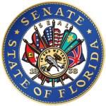 confederate flag on Florida Senate seal