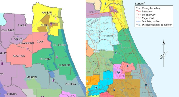 congressional districts flagler florida