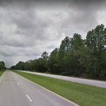 The motorcycle crash took place on U.S. 1 about a mile south of Old Kings Road Thursday evening. (Google)