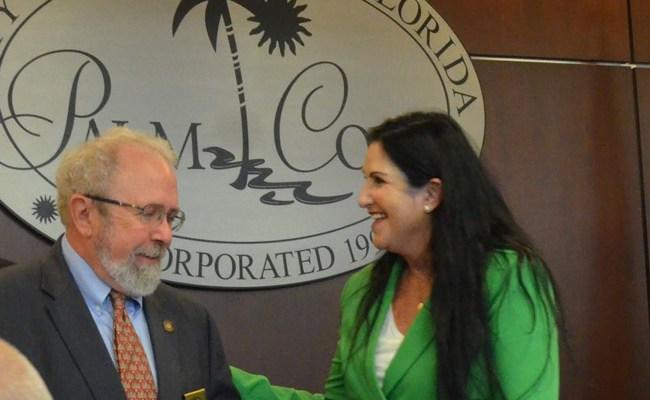 Bob Cuff and Milissa Holland