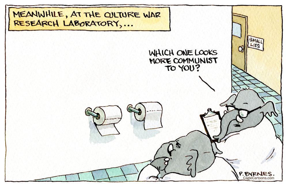 Pat Byrnes, PoliticalCartoons.com.