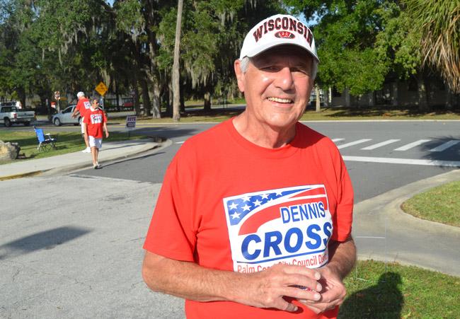 Dennis Cross, 1934-2013 (© FlaglerLive)