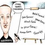 Facebook name change by Dave Granlund, PoliticalCartoons.com