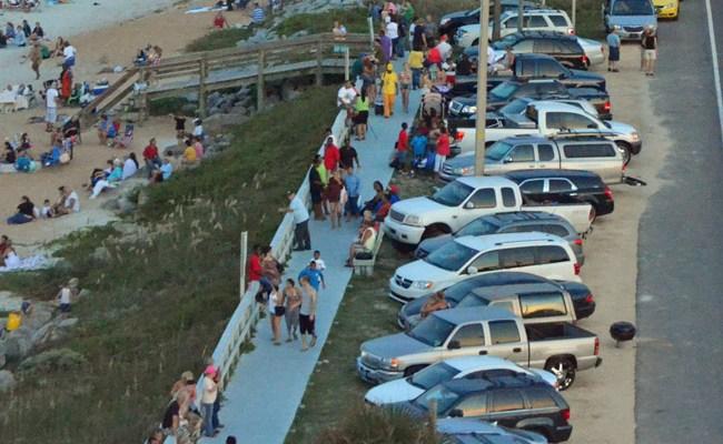 flagler beachj parking pier boardwalk